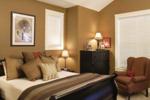 bedroom combinations bedrooms brown wall bed simple dark windows elegant sofa single natural pillows homesfeed goodbye boring say