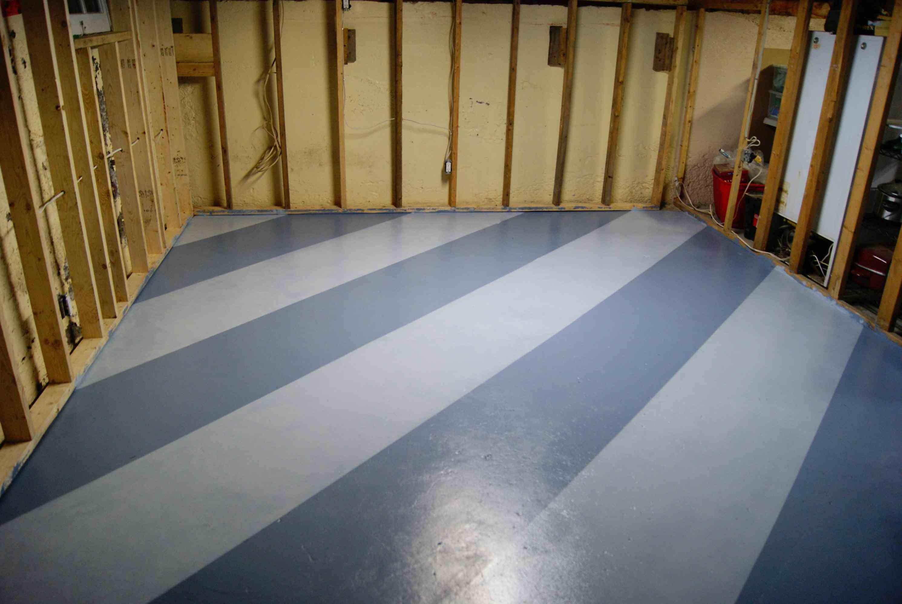 epoxy flooring kitchen samsung appliance bundle steps for easy painting basement floors   homesfeed