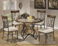 Wrought Iron Kitchen Tables Displaying Attractive ...
