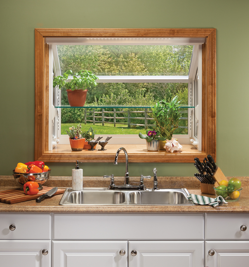 Garden Windows for Kitchens Upgrading the Outlook Right