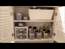 Diy Makeup Organizing Ideas Simple Stylish