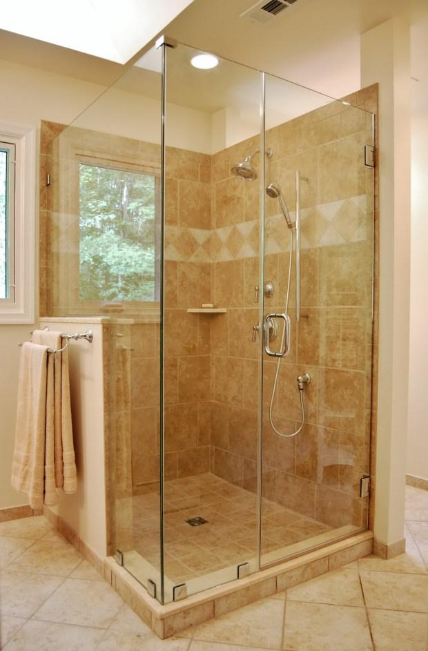 Glass Enclosed Shower Stalls - Home Design Ideas