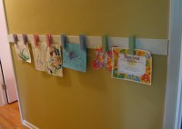 How to Display Kids Art without Making It Bothersome ...