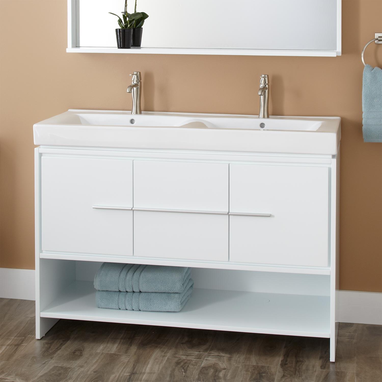 Bathroom Sink with Cabinet  HomesFeed