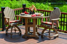 Earth Friendly With Outdoor Recycled Milk Jug Furniture