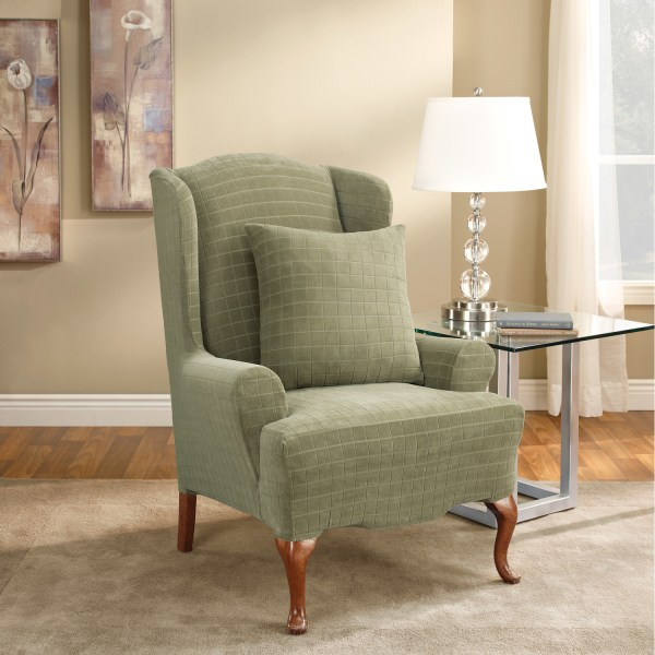 Stretch Wing Chair Slipcovers