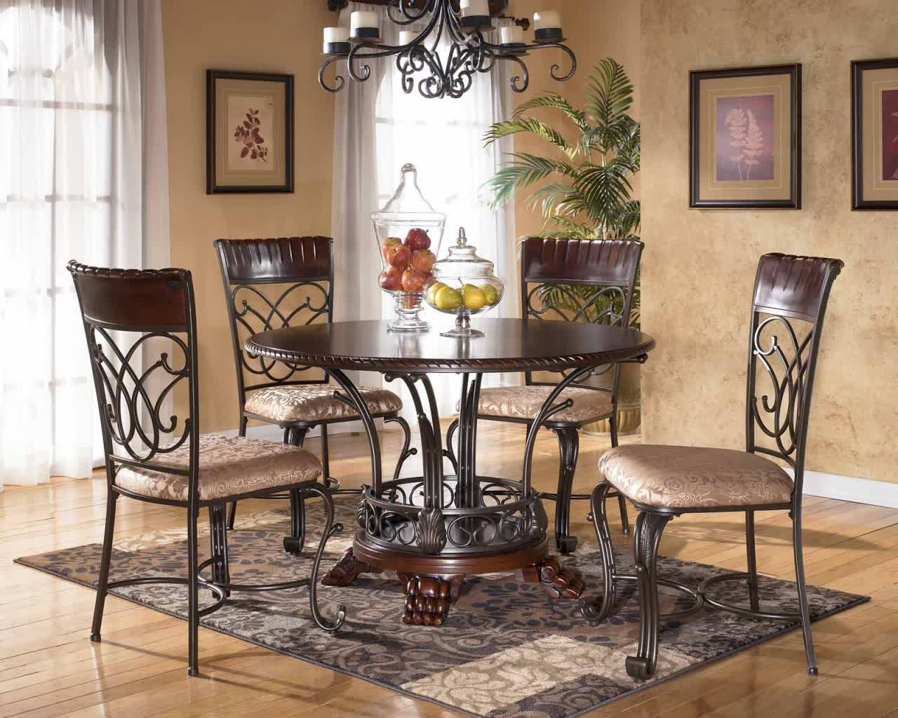wrought iron kitchen table cost to renovate a tables displaying attractive