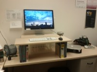 Make Your Own Standing Desk | HomesFeed