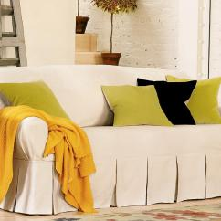 Chair Slipcovers Green Steelcase Task Pottery Barn Sofa Slipcover  Best Solution For Daily