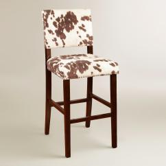 Cowhide Print Accent Chair Blue Recliner Have A Cow For Interior With Sweet Milky