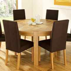 Round Dining Table For 6 Chairs Broyhill Executive Chair Replacement Parts Getting A Room By Your Own