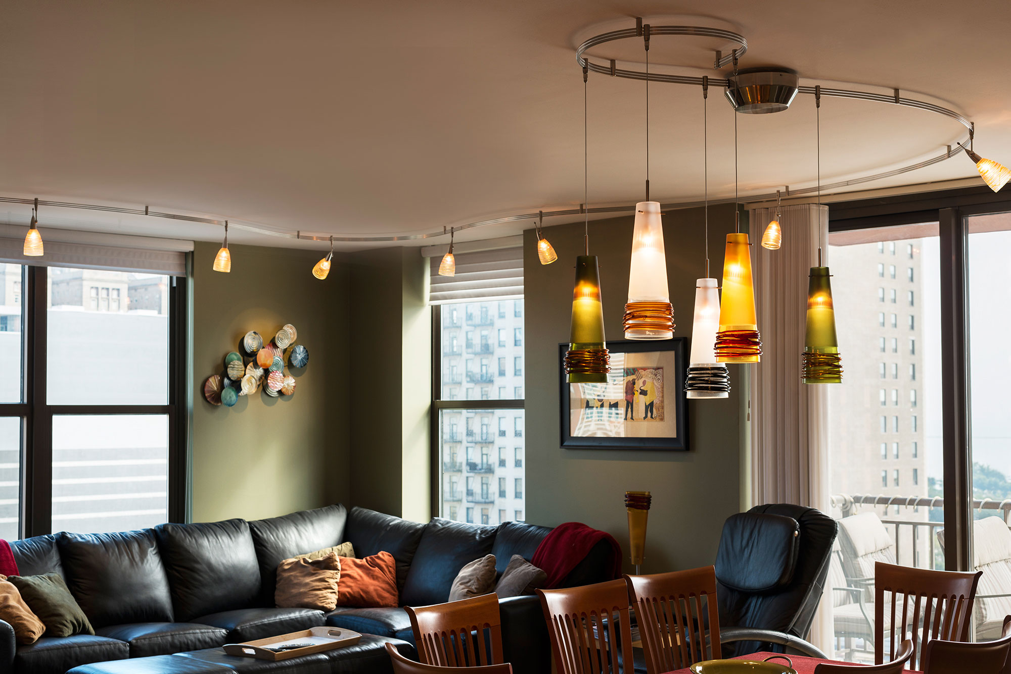 overhead sofa floor lamp l set designs wall mounted track lighting distinctive style