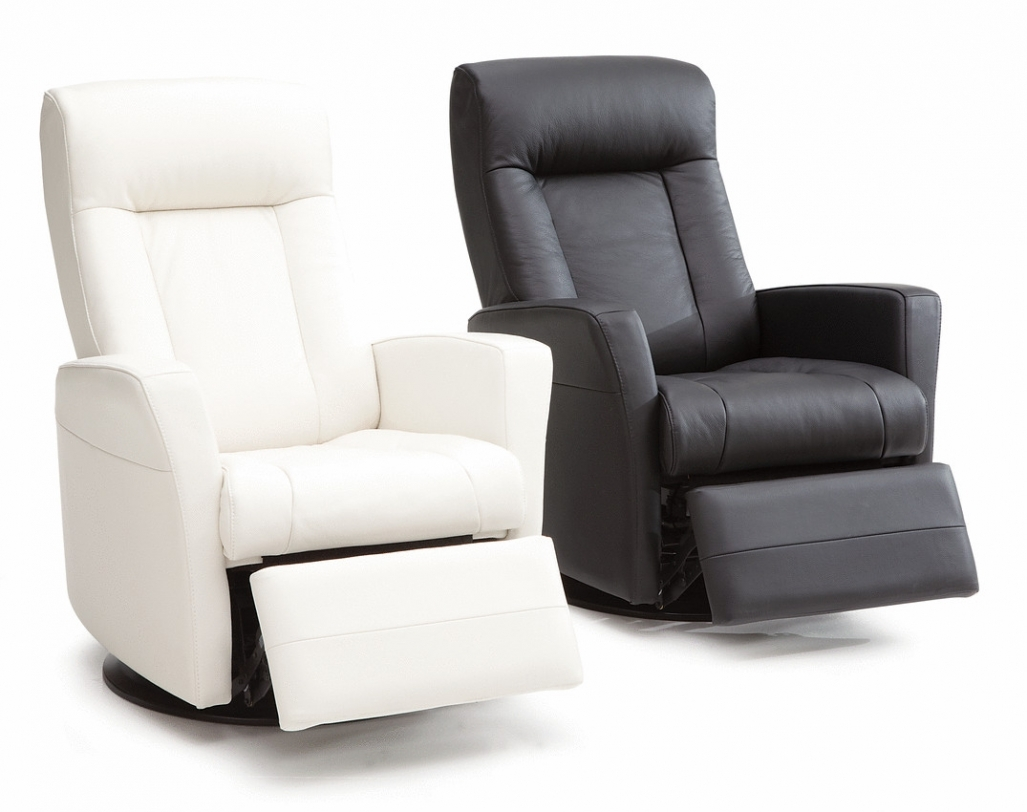 modern black leather recliner chair plycraft mr swivel options homesfeed