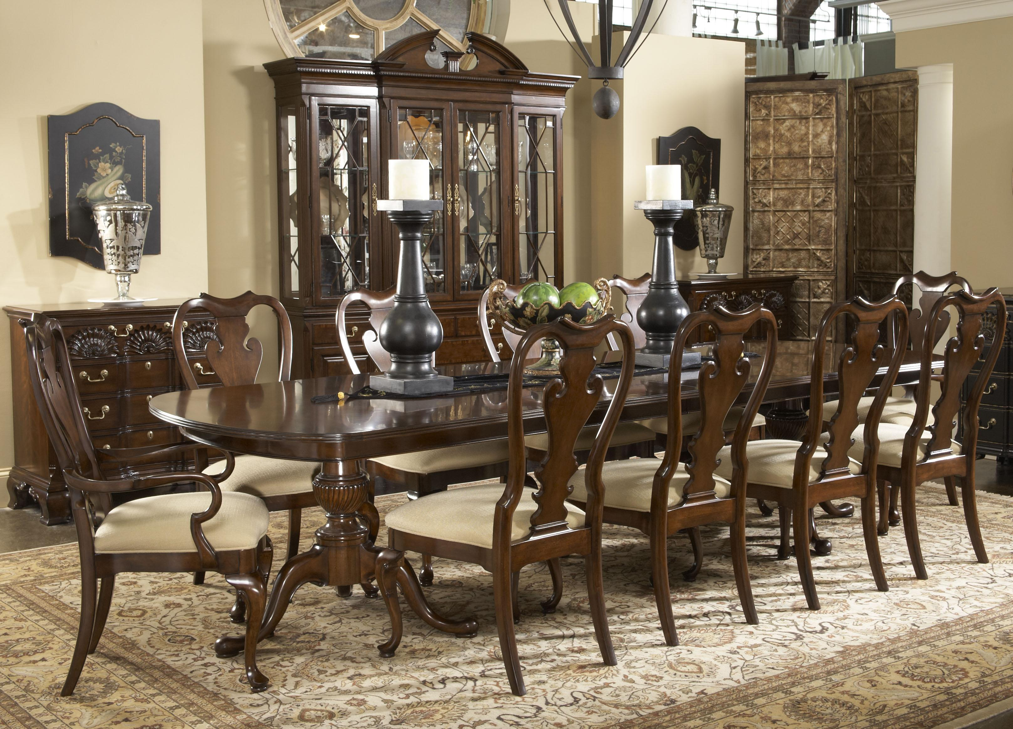 Dining Room Table And Chairs 11 Piece Dining Room Set Homesfeed