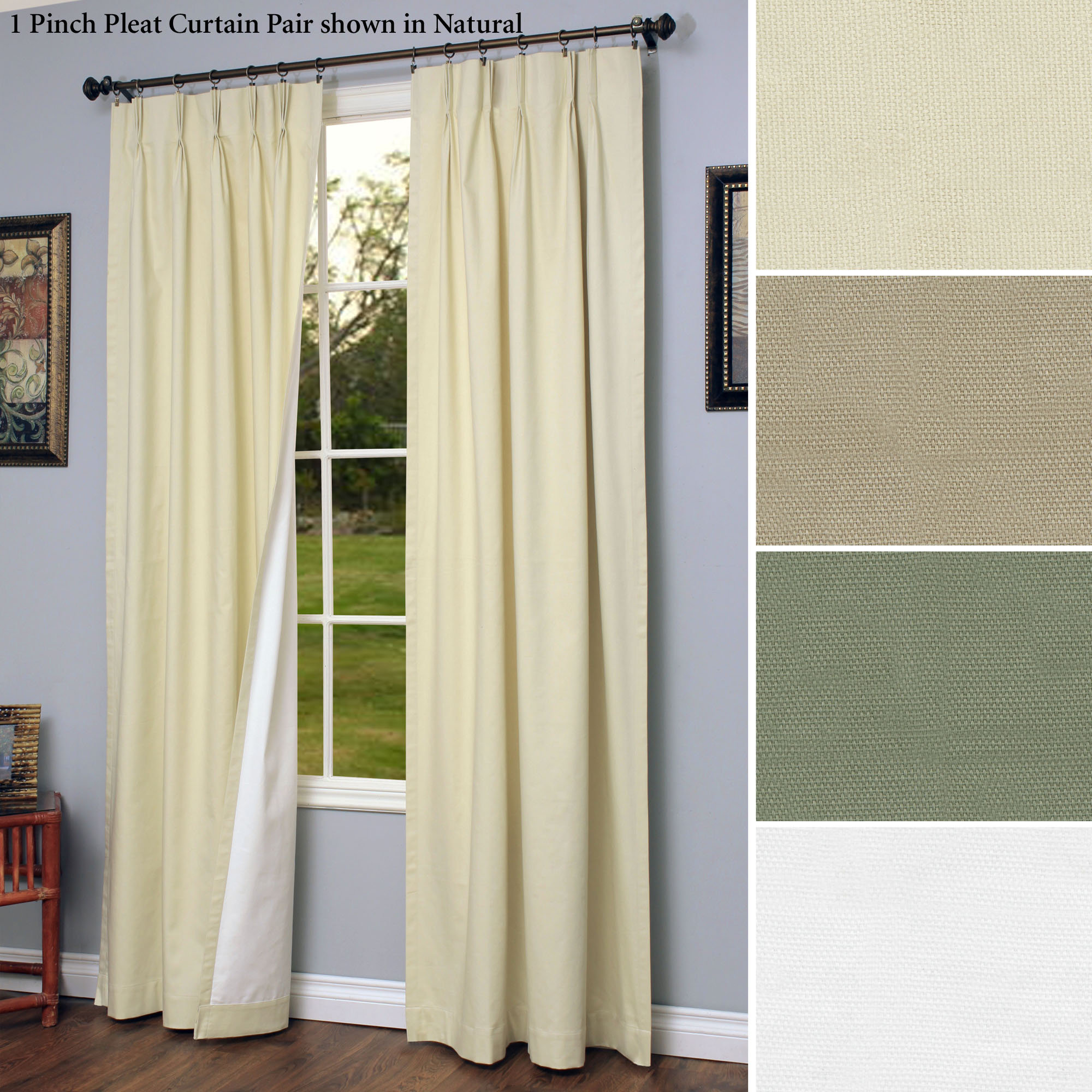 Exclusive fabrics painted chevron printed cotton curtain free - Extra Wide Blackout Curtains Homesfeed Exclusive
