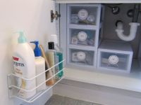 Brilliant Bathroom Cabinet Organizers
