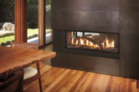 See Through Electric Fireplace | HomesFeed