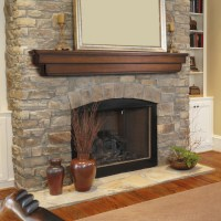 Ideal Fireplace Mantel Height | HomesFeed