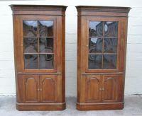Corner Cabinet With Glass Doors