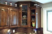 Corner Cabinet With Glass Doors | HomesFeed