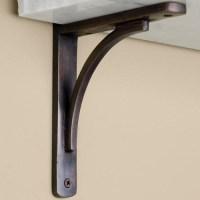 Decorative Metal Shelf Brackets | HomesFeed