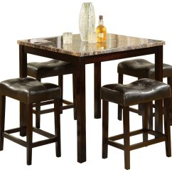 Kitchen High Chairs Wooden Chair Legs Top Table Sets Homesfeed