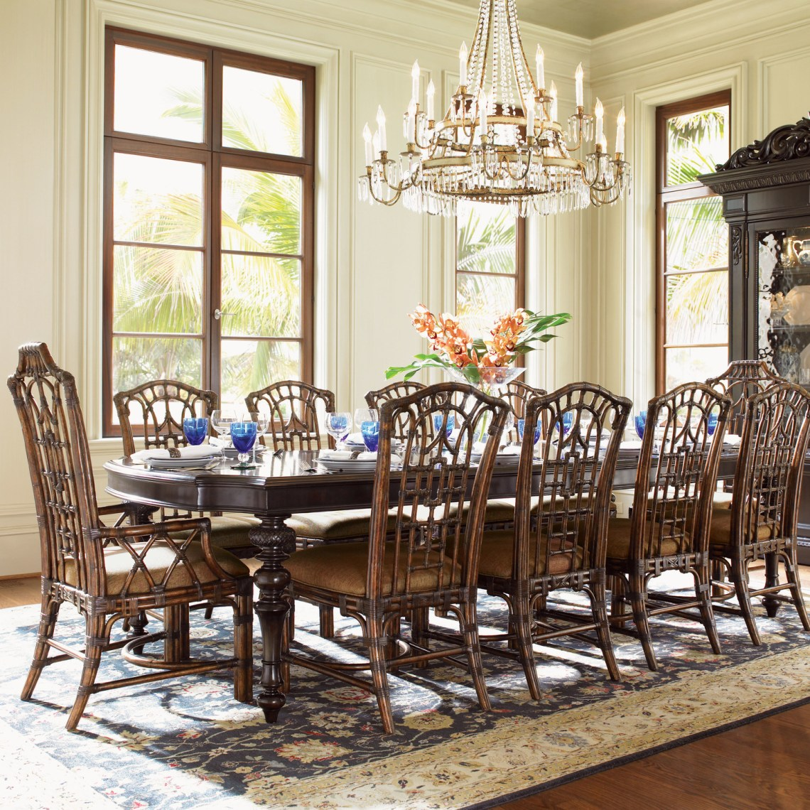 large dinning room sets