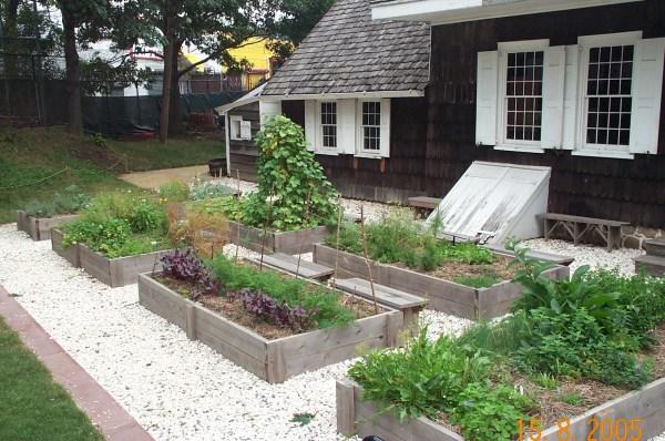 Kitchen Herb Garden Design Idea