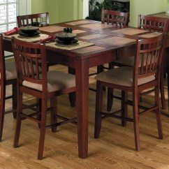 Tall Kitchen Tables And Chairs Tablecloths Chair Covers High Top Table Sets Homesfeed