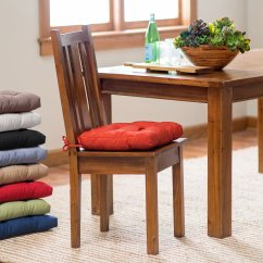 Chair Cushions For Kitchen Chairs Powder Room With Ties Homesfeed