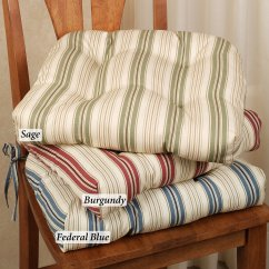 Chair Cushions With Ties French Country Office Reviews 2018 Kitchen Homesfeed
