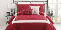 Red and White Comforter Ideas | HomesFeed