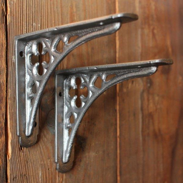 Decorative Metal Shelf Brackets Homesfeed