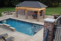 rectangular pool designs | Roselawnlutheran