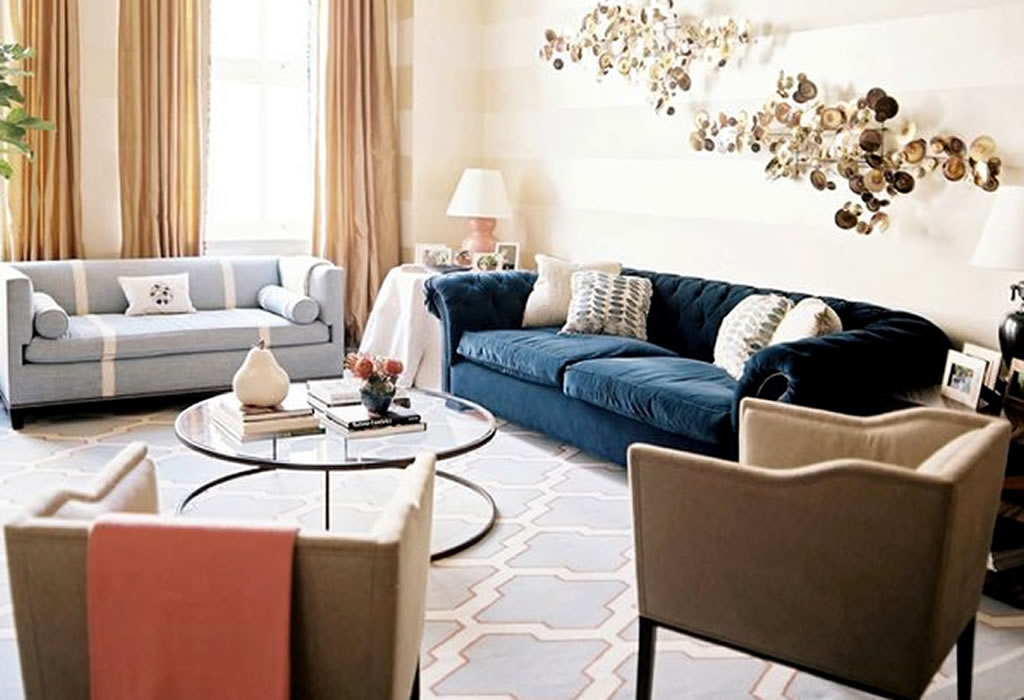 Fabric Living Room Furniture