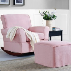 Pink Nursery Rocking Chair Bedroom Black Top Three Chairs For Homesfeed Baby Relax Mackenzie And Ottoman