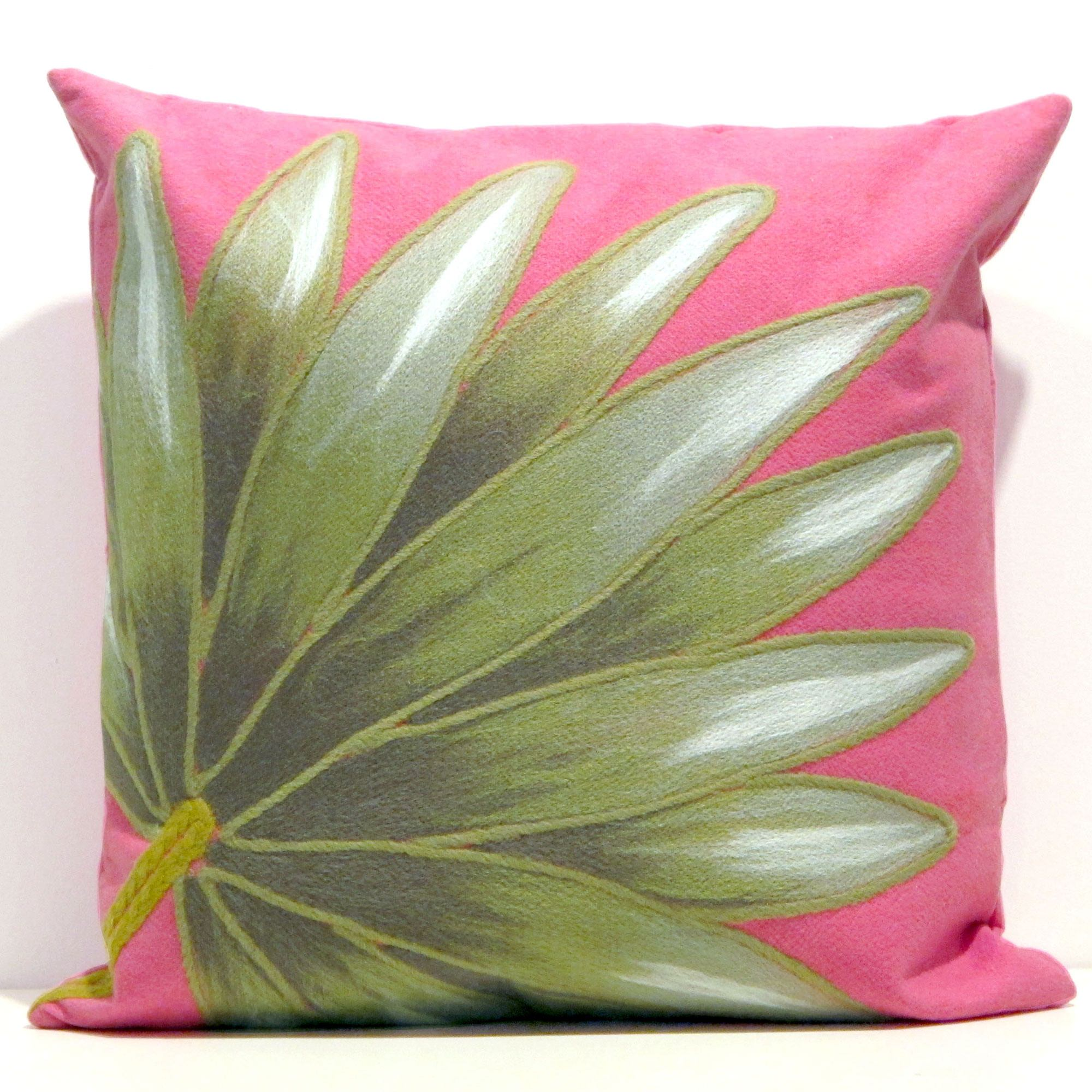 Pink Outdoor Pillows Design Selections  HomesFeed