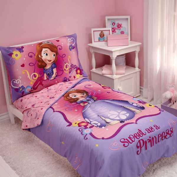 Princess Sofia Toddler Bed