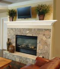 Ideal Fireplace Mantel Height | HomesFeed