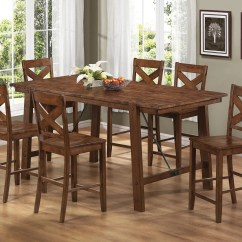 High Top Table With 6 Chairs Staples Reception Kitchen Sets Homesfeed