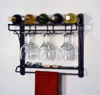 Wall Mounted Wine Glass Holder