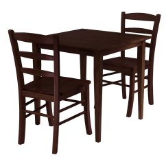 Small Breakfast Table And 2 Chairs Woven Rocking Chair Dinette Set Design Homesfeed