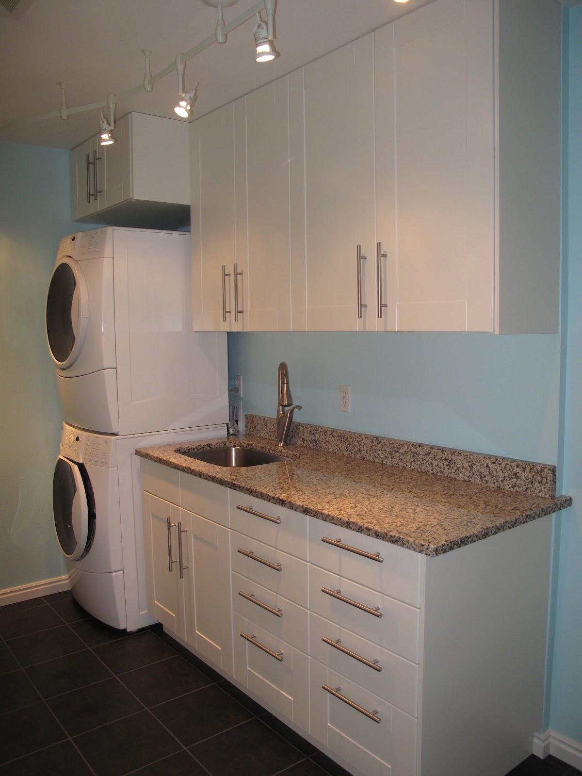ikea kitchen base cabinets ge appliances laundry room | homesfeed