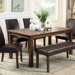 Dining Set With Bench And Chairs Club Chair Slipcover Bed Bath Beyond Small Rectangular Kitchen Table Homesfeed