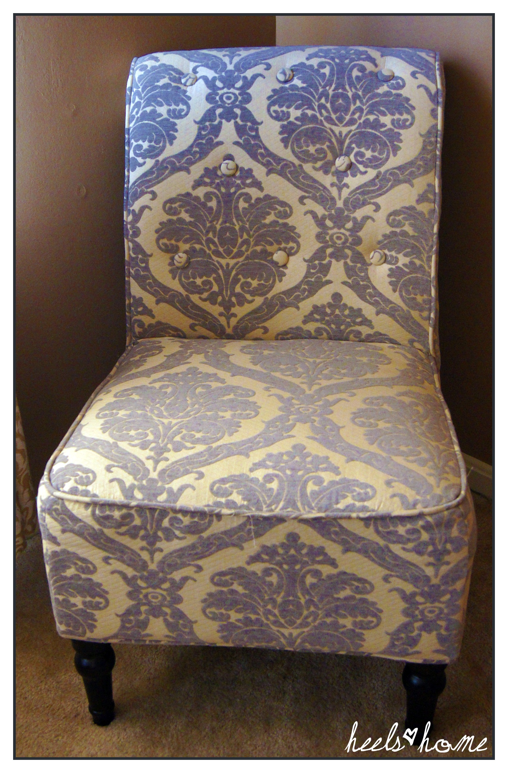 damask accent chair cheapest folding chairs ideas homesfeed