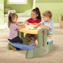 Little Tikes Table And Chair Set Crate Barrel Office Simple Minimalist For Toddlers Homesfeed