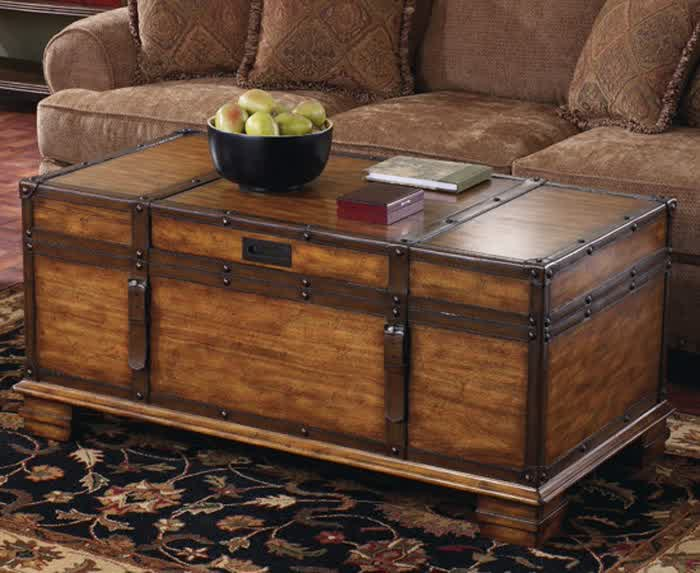 Variants of Trunk End Table
