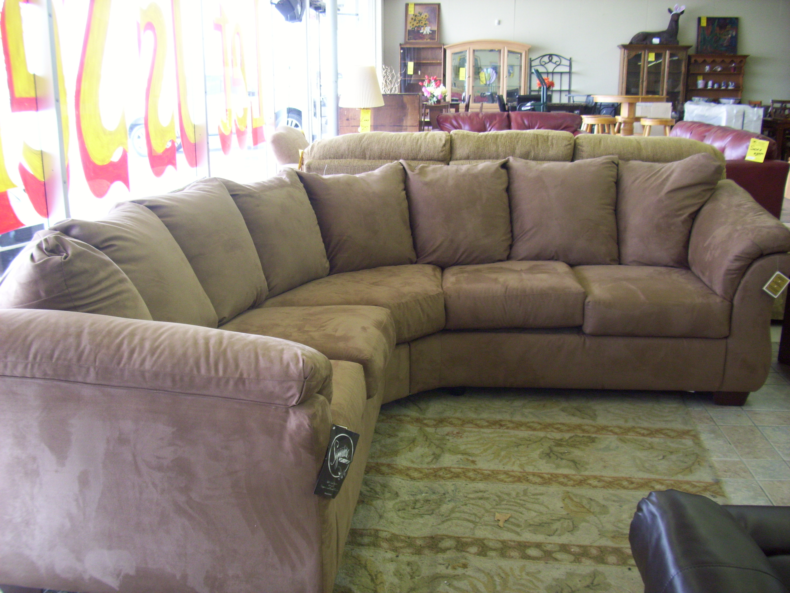 what size rug for living room sectional beach themed chairs u shaped with chaise design | homesfeed