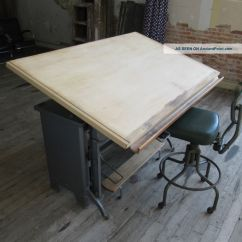 Drafting Table Chairs Toddler And Chair Set South Africa Old Homesfeed