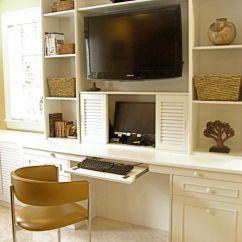Kitchen Cabinet Desk Units 48 Sink Base Wall Unit With Desk: Smart Storage Solution For Home ...